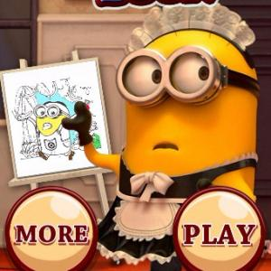 Play Minions Coloring Book II Games