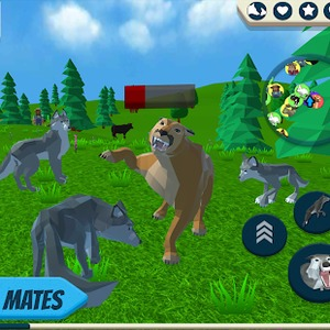 Play Wolf Simulator: Wild Animals 3d games | Y8games games