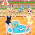 Disney Princesses Pool Party Clean