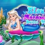 Elsa Mermaid Dress Up
