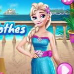 Elsa Wash Clothes