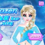 Frozen Elsa Ear Piercing