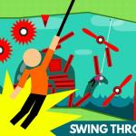 Hanger: Stickman Rope Swing